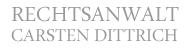 Rechtsanwalt Carsten Dittrich Leipzig